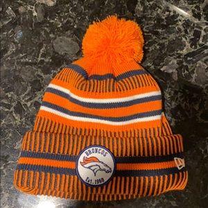Denver Bronco Winter Hat